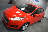 USED 2015 15 FORD FIESTA 1.2 ZETEC 5d 81 BHP DAB Radio, 1 Owner, Air con, Bluetooth, Full Ford Service History