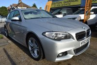 USED 2013 63 BMW 5 SERIES 2.0 520D M SPORT TOURING 5d AUTO 181 BHP COMES WITH 6 MONTHS WARRANTY