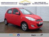 USED 2013 63 HYUNDAI I10 1.2 ACTIVE 5d 85 BHP Service History AirCon £20 Tax Buy Now, Pay Later Finance!