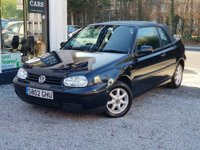 USED 1998 VOLKSWAGEN GOLF 1.6 SE 2dr Convertible