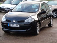2007 RENAULT CLIO 1.1 RIP CURL 16V 3d 75 BHP £1825.00