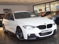 USED 2015 15 BMW 3 SERIES 2.0 320D M SPORT TOURING 5d AUTO 181 BHP MPERFORMANCE STYLING LOW MILES