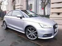 USED 2016 65 AUDI A1 1.6 TDI S LINE 3d AUTO 114 BHP FINANCE ARRANGED***PART EXCHANGE WELCOME***£20 ROAD TAX***AUDI SH***BLUETOOTH***DAB***A/C