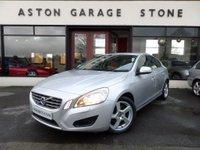2011 VOLVO S60 2.0 D3 SE 4d 161 BHP **NAV * FSH * S/ROOF** £6985.00