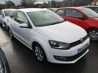 2014 VOLKSWAGEN POLO 1.2 MATCH EDITION 3d 69 BHP £6480.00