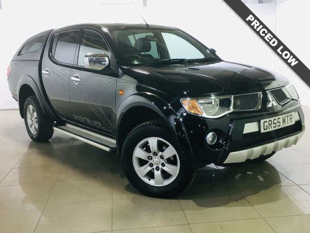 View our 2009 09 MITSUBISHI L200 2.5 ANIMAL LWB DCB 1d 164 BHP