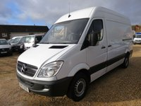 2013 MERCEDES-BENZ SPRINTER 2.1 313 CDI MWB HIGH ROOF 129 BHP 91439 MILES NO VAT £10995.00