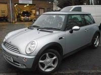 2004 MINI HATCH ONE 1.6 ONE 3d 89 BHP £1650.00