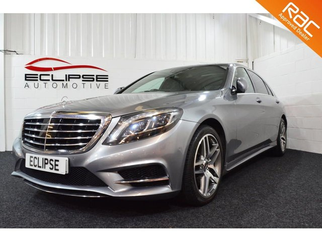 2013 63 MERCEDES-BENZ S CLASS 3.0 S350 BLUETEC L AMG LINE EXECUTIVE 4d AUTO 258 BHP