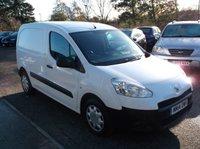 USED 2014 14 PEUGEOT PARTNER 1.6 HDI S L1 850 1d 89 BHP **Economical  -  Great Spec - Excellent Van - Drives superbly -  NO VAT **