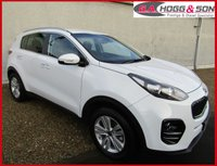 USED 2017 17 KIA SPORTAGE 1.7 CRDI 2 ISG 5dr 114 BHP **KIA WARRANTY UNTIL11/03/2024** **TOTALLY IMMACULATE EXAMPLE FINISHED IN THE BEST COLOUR**