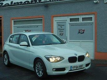 2014 BMW 1 SERIES 2.0 116D SE 5d 114 BHP £9999.00