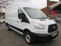 2014 FORD TRANSIT 350 L3 H3 LWB High roof panel van 125 PS *BLUETOOTH* £8995.00