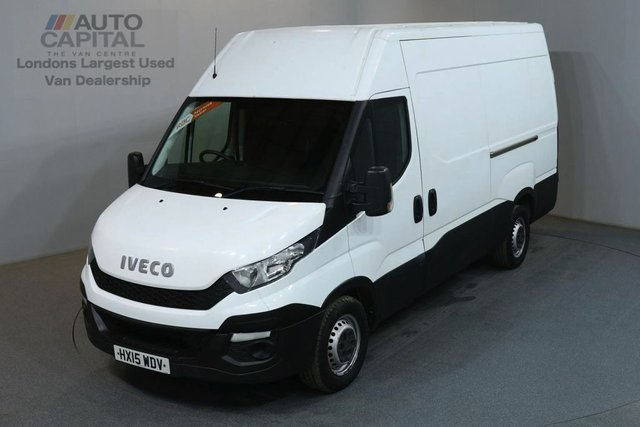 2015 15 IVECO DAILY 2.3 35S13V 126 BHP L2 MWB H/ROOF PANEL VAN ONE OWNER S/H SPARE KEY