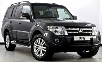 2013 MITSUBISHI SHOGUN 3.2 DI-D SG3 LWB SUV 5dr Auto £19495.00