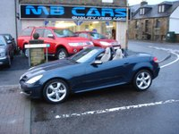 USED 2004 04 MERCEDES-BENZ SLK 3.5 SLK350 2d AUTO 269 BHP ONLY 68000 MILES FROM NEW,AUTOMATIC