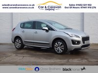 USED 2016 66 PEUGEOT 3008 1.6 BLUE HDI S/S ACTIVE 5d 120 BHP Service History Bluetooth A/C Buy Now, Pay Later Finance!
