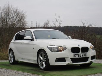 2013 BMW 1 SERIES 2.0 118D M SPORT 5d AUTO 141 BHP £11300.00