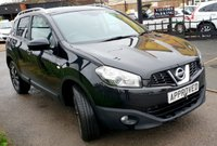 USED 2012 61 NISSAN QASHQAI 1.5 N-TEC DCI 5d 110 BHP SAT NAV, REAR CAMERA! 0% Deposit Plans Available even if you Have Poor/Bad Credit or Low Credit Score, APPLY NOW!