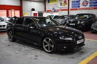 2011 AUDI A4 2.0 TDI S LINE BLACK EDITION 4d 168 BHP £11985.00