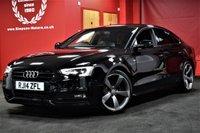 USED 2014 14 AUDI A5 2.0 SPORTBACK TDI S LINE BLACK EDITION S/S 5d 175 BHP