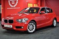 USED 2014 64 BMW 1 SERIES 2.0 116D SE 5d 114 BHP