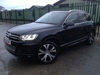 2013 VOLKSWAGEN TOUAREG 3.0 V6 R-LINE TDI BLUEMOTION TECHNOLOGY 5d AUTO 242 BHP PAN ROOF SAT NAV LEATHER FSH £18990.00