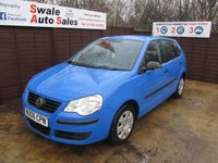 USED 2006 06 VOLKSWAGEN POLO 1.2 E 5d 63 BHP FINANCE AVAILABLE FROM £27 PER WEEK OVER TWO YEARS - SEE FINANCE LINK