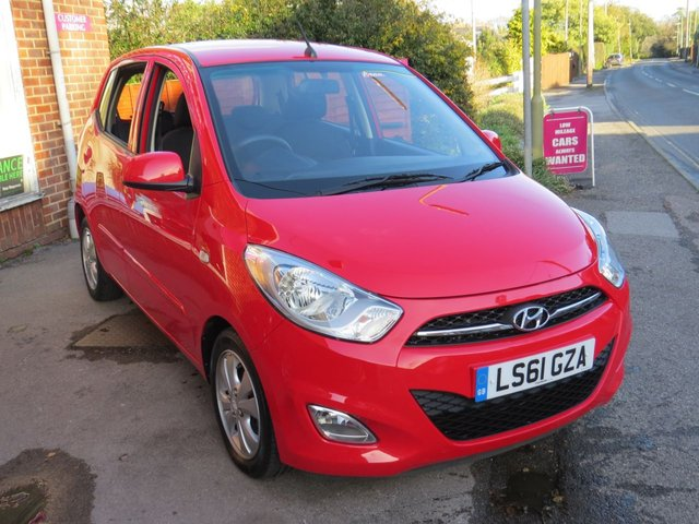 USED 2011 61 HYUNDAI I10 1.2 ACTIVE 5d 85 BHP 1 OWNER.AUTO, LOW MILES. FINANCE ME TODAY. ALL CREDIT HISTORIES CONSIDERED-PX/DELIVERY POSS