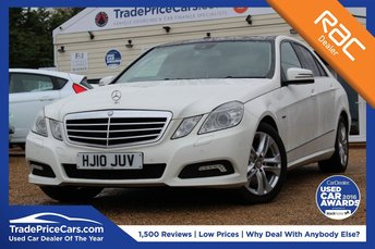 2010 MERCEDES-BENZ E CLASS 3.0 E350 CDI BLUEEFFICIENCY AVANTGARDE 4d AUTO 231 BHP