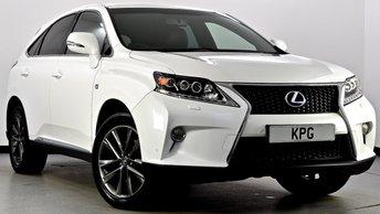 2012 LEXUS RX 450H 3.5 F Sport CVT 4x4 5dr £17995.00
