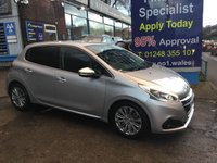2015 PEUGEOT 208 1.2 ALLURE 5d 82 BHP, 1 Owner, only 19000 miles £7995.00