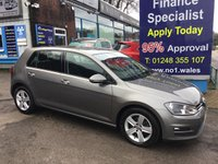 USED 2016 16 VOLKSWAGEN GOLF 1.6 MATCH EDITION TDI BMT 5d 109 BHP, only 32000 miles, 1 Owner ***OCTOBER MEGA DEAL........A LIFETIME WARRANTY and 2 YEARS SERVICING AVAILABLE WITH THIS VEHICLE ***