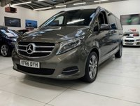 2016 MERCEDES-BENZ V CLASS 2.1 V220 BLUETEC SPORT 5d AUTO 161 BHP EXTRA LONG 7 SEATER  £36995.00