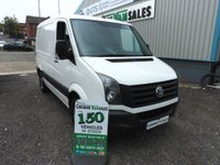 2014 VOLKSWAGEN CRAFTER 2.0 CR30 TDI BLUEMOTION 135 BHP RARE SWB LOW ROOF AIR CON & CRUISE  £10995.00