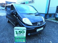 2012 RENAULT TRAFIC 2.0 SL27 SPORT DCI 115 BHP SAT NAV AIR CON NO VAT TO PAY £7395.00