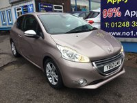 2012 PEUGEOT 208 1.4 ALLURE 3d 95 BHP, 2 owners, only 27000 miles £5495.00