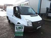2012 FORD TRANSIT 2.2 280 100BHP SWB NO VAT TO PAY ON THIS VAN CHOICE OF 2  £6195.00