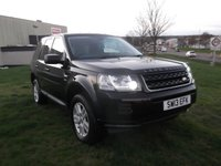 USED 2013 13 LAND ROVER FREELANDER 2.2 TD4 BLACK AND WHITE 5d 150 BHP ONLY 28K MILES, FSH!