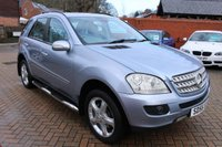 USED 2006 56 MERCEDES-BENZ M CLASS 3.0 ML280 CDI SPORT 5d 188 BHP
