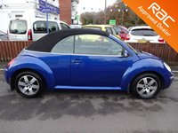 USED 2006 06 VOLKSWAGEN BEETLE 1.6 LUNA CONVERTIBLE *LOOK*LOW MILEAGE*ELECTRIC ROOF*ALLOYS*NEW MOT*