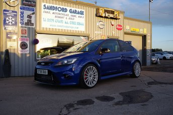 2009 FORD FOCUS 2.5 RS 3d 300 BHP £22999.00