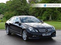 2010 MERCEDES-BENZ E CLASS 2.1 E250 CDI BLUEEFFICIENCY SPORT 2d AUTO 204 BHP £7995.00