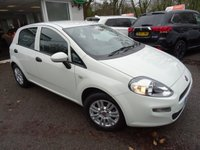 USED 2016 66 FIAT PUNTO 1.2 POP+ PLUS 5d 69 BHP Low Mileage! Full Fiat Service History, One Lady Owner from new, MOT until September 2019, Good fuel economy! Balance of Fiat Warranty until September 2019