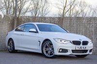 2016 BMW 4 SERIES 2.0 420D M SPORT 2d AUTO 188 BHP £19000.00