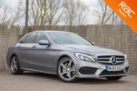 USED 2015 65 MERCEDES-BENZ C CLASS 2.1 C220 D AMG LINE 4d 170 BHP £0 DEPOSIT BUY NOW PAY LATER - 1 OWNER - FULL MERCEDES S/H