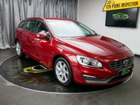 USED 2013 63 VOLVO V60 1.6 D2 BUSINESS EDITION 5d 113 BHP £0 DEPOSIT FINANCE AVAILABLE, AIR CONDITIONING, AUX INPUT, BLUETOOTH CONNECTIVITY, CLIMATE CONTROL, CRUISE CONTROL, DAB RADIO, DAYTIME RUNNING LIGHTS, HEATED SEATS, PARKING SENSORS, SATELLITE NAVIGATION, STEERING WHEEL CONTROLS, TRIP COMPUTER