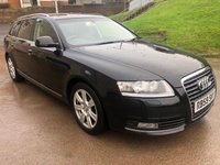 USED 2009 59 AUDI A6 2.0 TDI E SE 5d 134 BHP TIMING BELT CHANGED *  LEATHER TRIM *  FULL YEAR MOT *  NAVIGATION SYSTEM *  PARKING SENSORS *