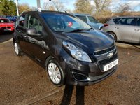 USED 2013 13 CHEVROLET SPARK 1.2 LTZ 5d 80 BHP TWO KEYS,USB AND AUX PORT,AIR CON,REMOTE LOCKING