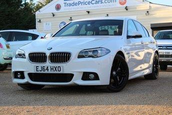 2014 BMW 5 SERIES 3.0 535D M SPORT 4d AUTO 309 BHP £19950.00